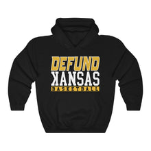 Load image into Gallery viewer, DEFUND kANSAS BASKETBALL (ALT) - Unisex Heavy Blend™ Hooded Sweatshirt