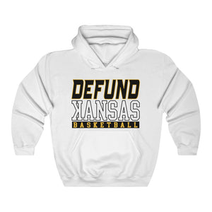DEFUND kANSAS BASKETBALL (ALT) - Unisex Heavy Blend™ Hooded Sweatshirt