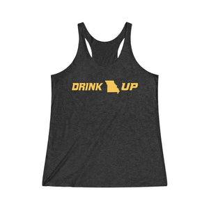 Drink Up - Women's Tri-Blend Racerback Tank