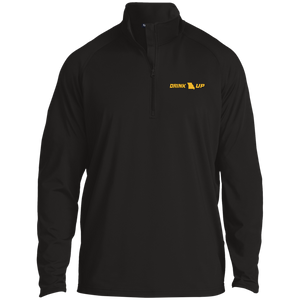 Drink UP - 1/2 Zip Raglan Performance Pullover