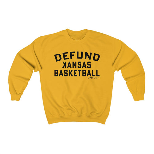 DEFUND kansas Basketball - Unisex Heavy Blend™ Crewneck Sweatshirt