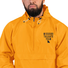 Load image into Gallery viewer, MISSOURI TAILGATE TEAM (BLACK STITCH) Embroidered Champion Packable Jacket