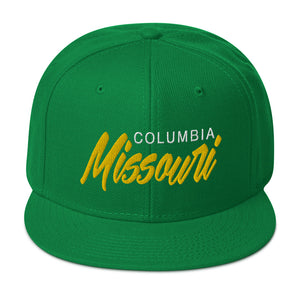 Columbia Missouri Snapback Hat