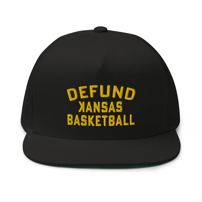 DEFUND kansas Basketball - Flat Bill Cap