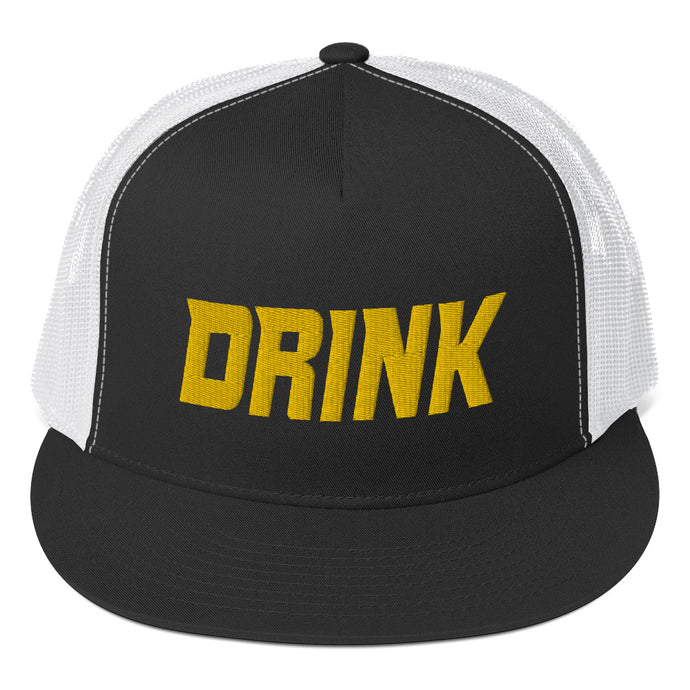 Drink (gold embroidery) Trucker Cap