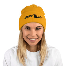 Load image into Gallery viewer, Drink Up Pom-Pom Beanie