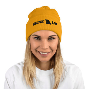 Drink Up Pom-Pom Beanie