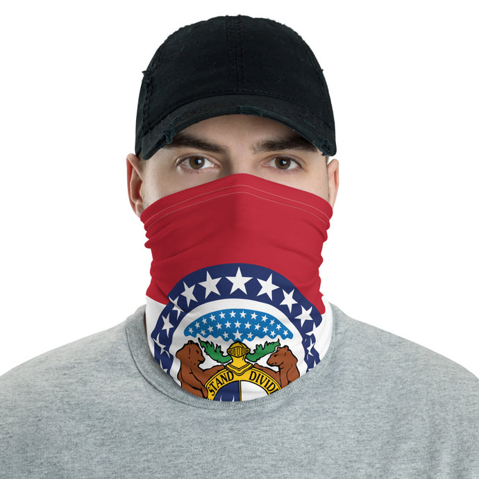 Missouri Flag - Neck gaiter