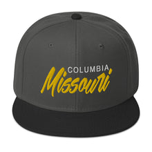 Load image into Gallery viewer, Columbia Missouri Snapback Hat