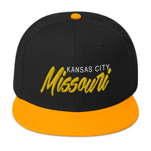 Load image into Gallery viewer, Kansas City Snapback Hat