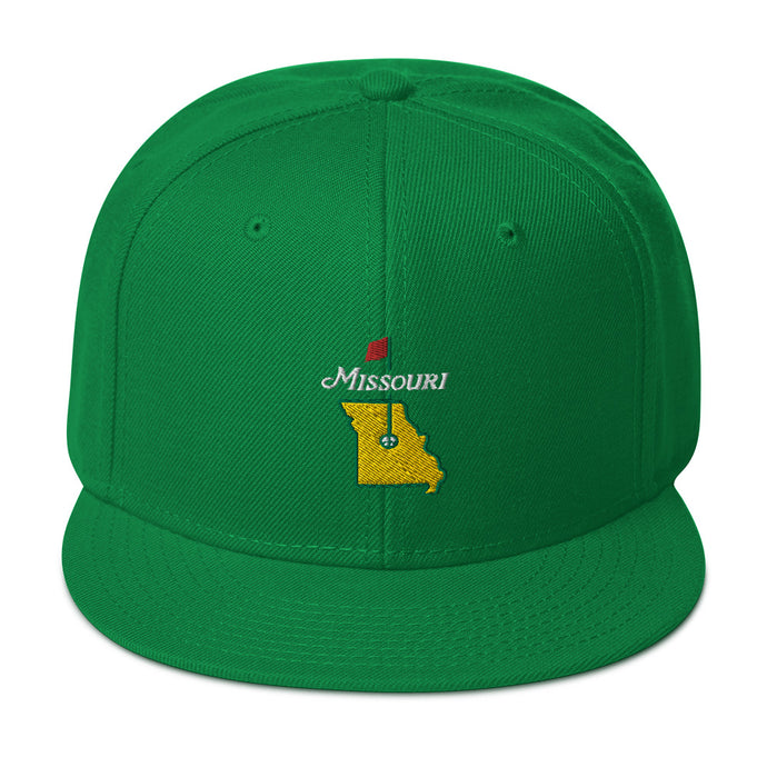 Missouri Golf - Snapback Hat