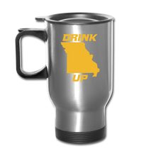 Load image into Gallery viewer, Drink Up - Travel Mug - silver