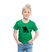 Load image into Gallery viewer, Made (Missouri black print) Toddler Premium T-Shirt - kelly green