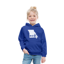 Load image into Gallery viewer, Made (Missouri white print) Kids' Premium Hoodie - royal blue