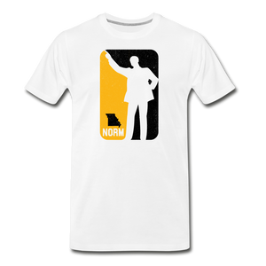 NBA - Unisex -Premium T-Shirt - white