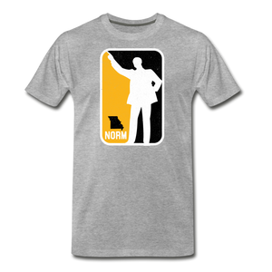 NBA - Unisex -Premium T-Shirt - heather gray