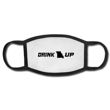 Load image into Gallery viewer, Drink UP - Face Mask - white/black