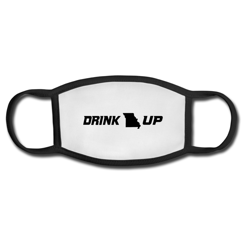 Drink UP - Face Mask - white/black