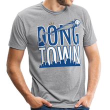 Load image into Gallery viewer, DongTown - Unisex Tri-Blend T-Shirt - heather gray