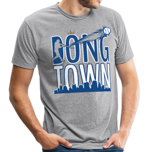 DongTown - Unisex Tri-Blend T-Shirt - heather gray