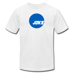 NCAA is a JOKE - Unisex Jersey T-Shirt - white
