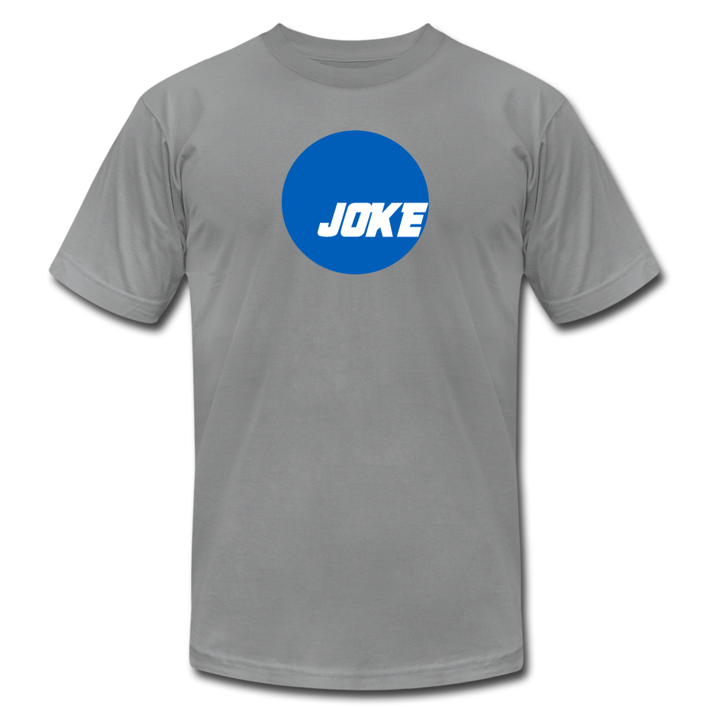 NCAA is a JOKE - Unisex Jersey T-Shirt - slate
