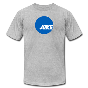 NCAA is a JOKE - Unisex Jersey T-Shirt - heather gray