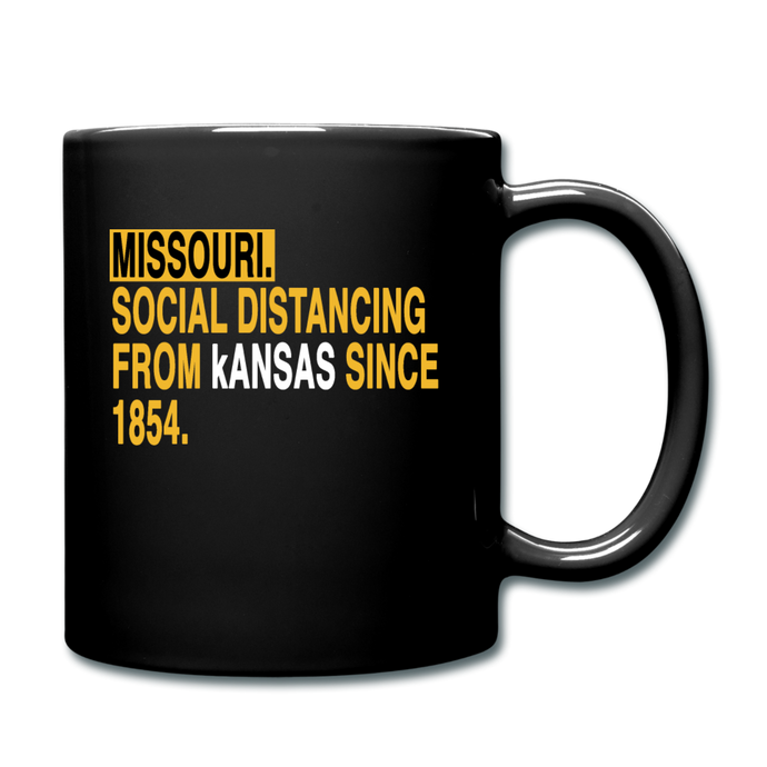 Missouri Social Distancing - Full Color Mug - black