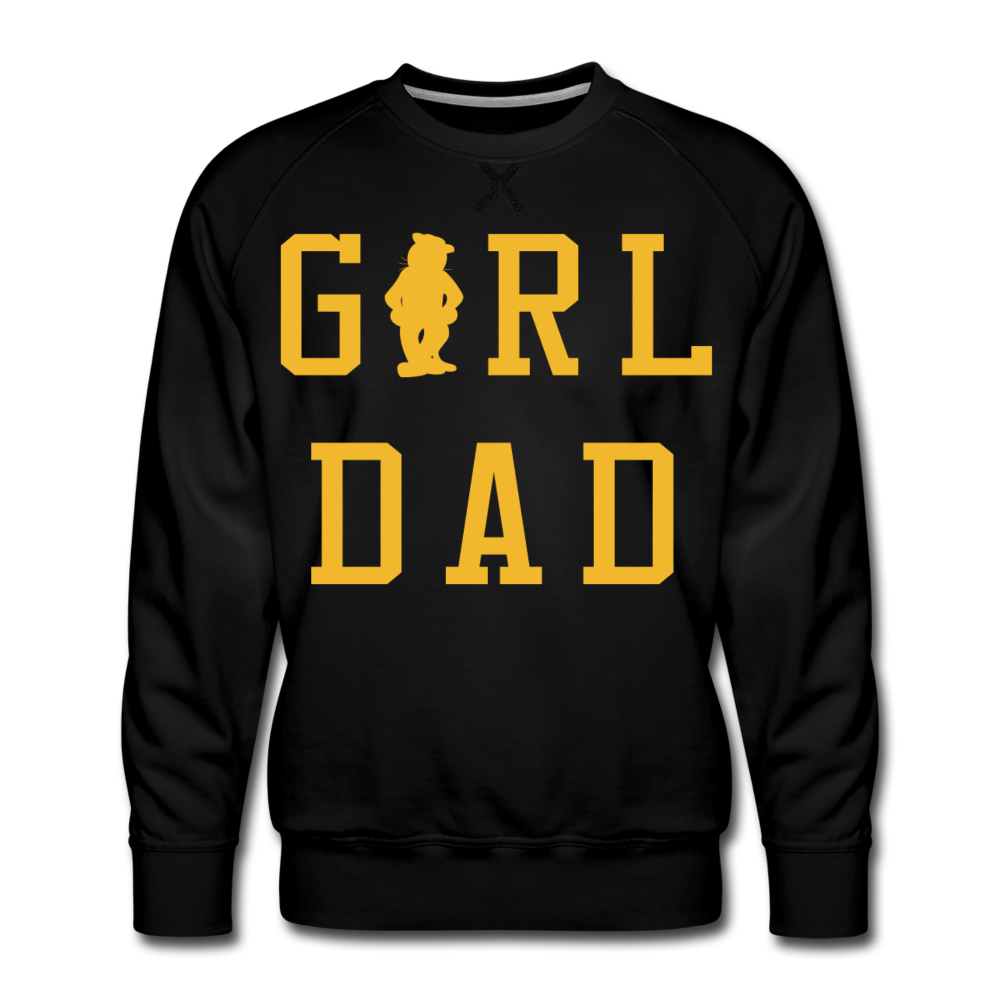 GIRL DAD - Premium Sweatshirt - black