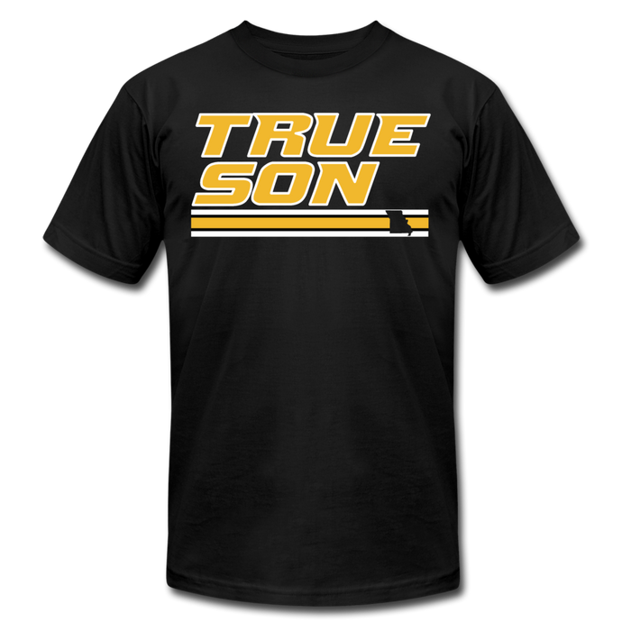 TRUE SON - Unisex Jersey T-Shirt - black