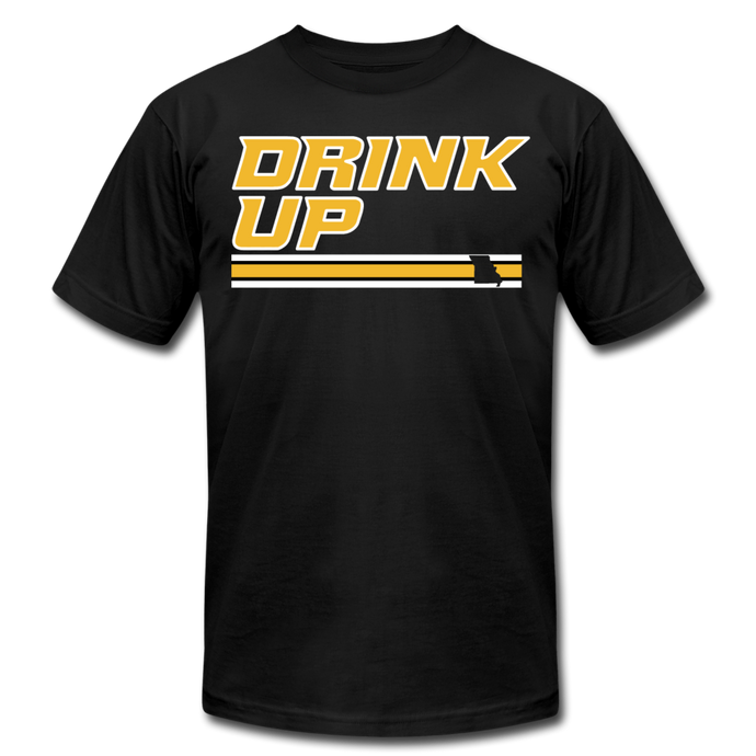 DRINK UP 2- Unisex Jersey T-Shirt - black