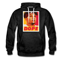 Load image into Gallery viewer, Pat is Dope II - Unisex Premium Hoodie - charcoal gray