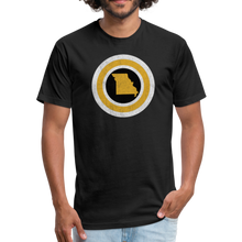 Load image into Gallery viewer, Captain Missouri Alt - Fitted Cotton/Poly T-Shirt by Next Level - black