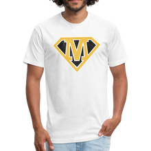 Load image into Gallery viewer, Super M - Fitted Cotton/Poly T-Shirt by Next Level - white