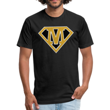 Load image into Gallery viewer, Super M - Fitted Cotton/Poly T-Shirt by Next Level - black