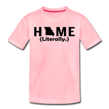 Load image into Gallery viewer, Home (Literally.) - Kids' Premium T-Shirt - pink