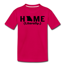 Load image into Gallery viewer, Home (Literally.) - Kids' Premium T-Shirt - dark pink