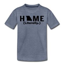 Load image into Gallery viewer, Home (Literally.) - Kids' Premium T-Shirt - heather blue