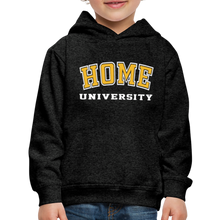 Load image into Gallery viewer, HOME University - Kids' Premium Hoodie - charcoal gray