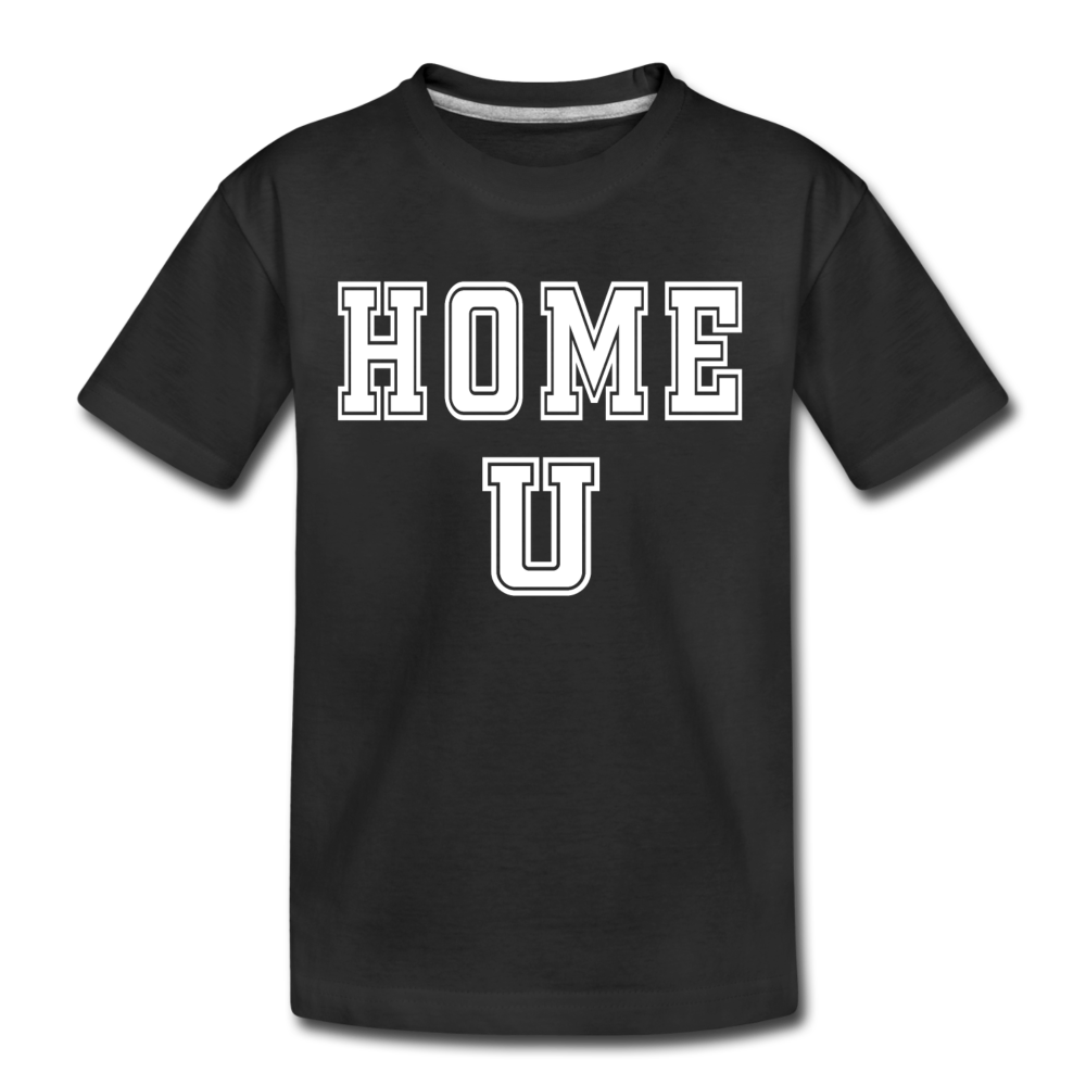 HOME U - Kids' Premium T-Shirt - black