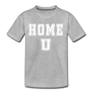 HOME U - Kids' Premium T-Shirt - heather gray