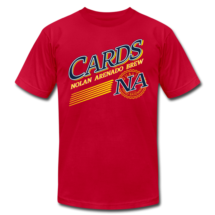 CARDS NA BREW - red