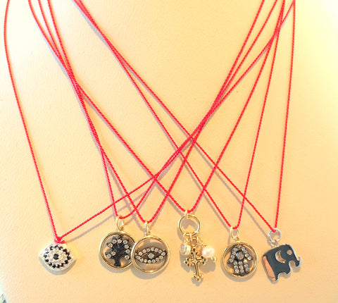 Silk Cord Necklace