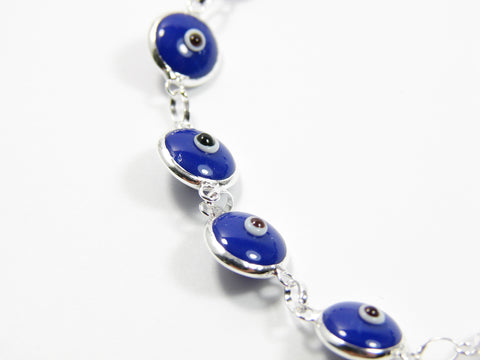 Evil eye bracelet. Blue evil eye bracelet. - Martinuzzi Accessories