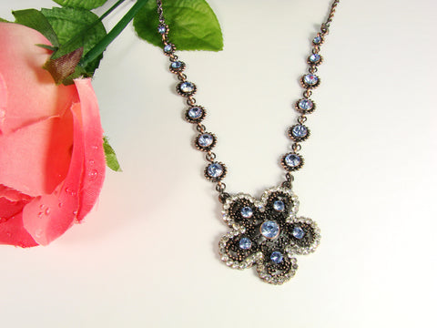 Charm Blue Necklace