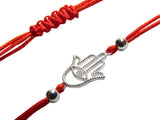 Hamsa Hand Bracelet Red String Sterling Silver Charm Fashion jewelry Gift - martinuzzi accessories