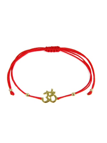 Om symbol bracelet - Martinuzzi Accessories