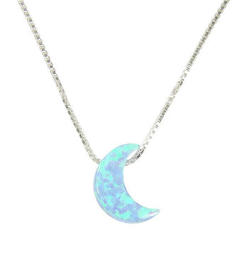 blue moon necklace - martinuzzi accessories