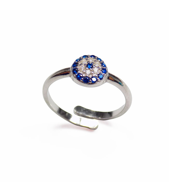 Evil Eye Protection Ring - Martinuzzi Accessories