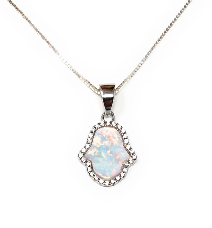with hand turquoise shop necklace cz product hamsa original stones